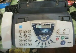 Brother Fax-575 Personal Plain Paper Fax Phone and Copier Machine copy worked