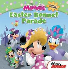 Minnie Easter Bonnet Parade NEW Paperback & Stickers Disney Minnie Mouse