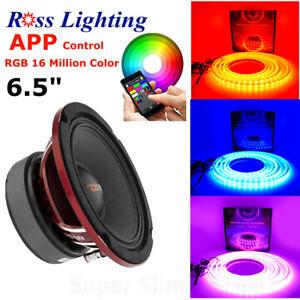 Soundstream LED-8RGB LED Speaker Rings 8.0