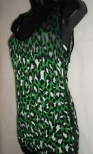New Guess knitted leopard tank top Size L RRP £50