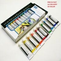 Water colour Art Paint 10 Tubes Set - 12ml