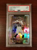 2016 Select Jared Goff 63 Prizm Silver PSA 9 Rookie Rc Los Angeles Rams