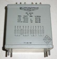 Trafo Transformator 3 Phasen Drehstrom 60 Hz / 440 V --> 19V +19V + 13,5 V