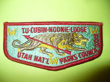 Tu-Cubin Noonie 60th Anniversary Lodge 508 Utah National Parks Council