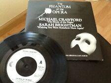 SARAH BRIGHTMAN . WISHING YOU WERE SOMEHOW HERE AGAIN .The Phantom of the Opera