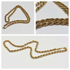 ARGENTO 925 HE placcato oro catena 61,5 cm cordino braccialetto in accessori