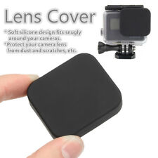 1x Soft Black Silicone Protective Lens Cap Case Cover Protector For Gopro Hero 5