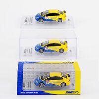 1/64 INNO64 HONDA CIVIC TYPE-R FD2 #95 Diecast Car Model Tuned By Spoon Sports