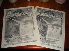 GOD'S STONE WITNESS GREAT PYRAMID PAGAN Nov. Dec. 1928 Watch Tower IBSA Jehovah