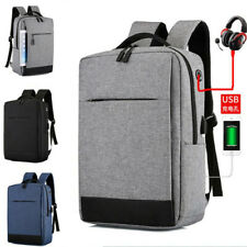 Anti-theft back business laptop bag USB charging multi-function leisure backpack