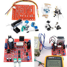 Red 0-30V 2mA-3A Adjustable DC Regulated Power Supply Board DIY Kit PCB