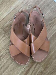Kokka Handmade Greek Leather Sandals   Size 5