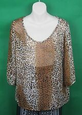 Supre, Leopard Print Top, Size Small.