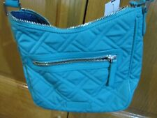 Turquoise Mini Vivian Fabric Crossbody Purse - Vera Bradley NEW!