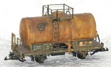 LGB 4040 Tankcar, Kesselwagen gealtert