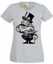 Gramophone Head Womens T-Shirt Ladies top