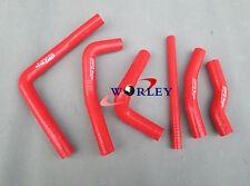 Silicone Radiator Hose kit For Honda CR250 CR250R CR 250 R 2000 2001 00 01 RED
