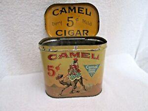 vintage Camel Cigar tobacco tin lot B
