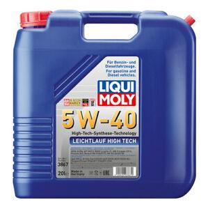Liqui Moly Leichtlauf High Tech Synthetic Technology Engine Oil 5W-40 20L