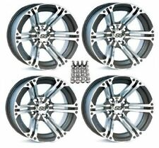 "ITP SS212 Wheels Rims 14"" 4 Wheel Kit Suzuki King Quad 2005-2017 450 700 750"