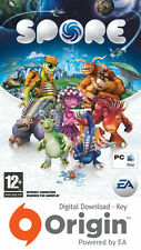 Spore pc et mac origin key