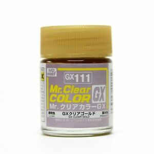 VOLKS Mr Hobby Color GX111 GX Deep Clear Gold Color Figure Doll Plastic Model