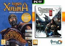 Lords of xulima Edición de Lujo & Dungeon Siege 3 Nuevo y Sellado