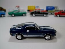 Tiger Wheels 1968 Ford Shelby GT500 Mustang Blue~White VHTF RR's 1/64 Scale JC40