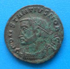 Constance Chlore Constantius grand follis GENIO POPVLI ROMANI Lyon Lugdunum