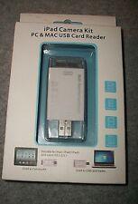 iPad Camera Kit OT-2140 PC & MAC USB Card Reader Series SD/TF/MS/M2/MMC Cards