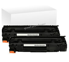 2PK CE285A 85A Black Toner Cartridge for HP LaserJet P1102w M1217nfw MFP