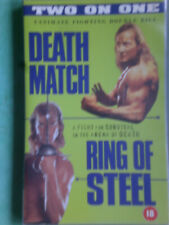 DEATH MATCH + RING OF STEEL  (BRAND NEW)    -  BIG BOX ORIGINAL RARE & DELETED