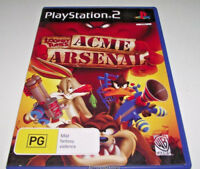 Looney Tunes Acme Arsenal PS2 PAL *Complete* Bugs Daffy Marvin the Martian Taz