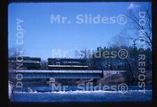 Original Slide NYC New York Central GP7 5635 & 1 Action Ann Arbor MI 1964