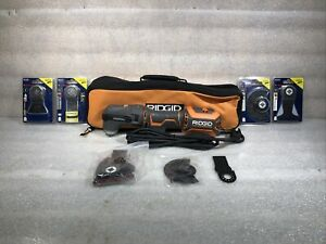RIDGID R2851VN Corded Electric JobMax Multi-Tool with Head and Attachments NEW