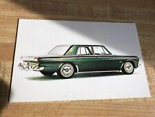 1964 Studebaker Cruiser Postcard Brochure Excellent Original 64