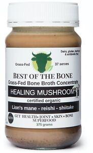 Best of the Bone Mushroom bone broth concentrate (lions mane-reishi-shiitake)