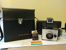 Vintage Polaroid Land Camera Super Colorpack IV With Case & Development Timer