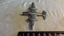 Antique Plastic Toy Airplane Martin B-26 Marauder Hubley 1946 RARE as is