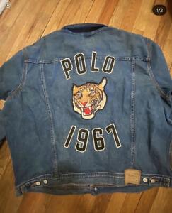 Polo ralph lauren TIGER jean jacket M-L-XL-XXL