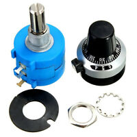 5K Ohm 3590S-2-502L Potentiometer With 10 Turn Counting Dial Rotary Knob*BVBLBU