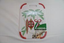 Farberware Holiday Christmas Xmas 10 x 14 Vegetable Cheese Tray Cutting Board