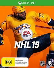EA Sports NHL 19 2019 Ice Hockey League Sports Game For Microsoft XBOX One XB1 X