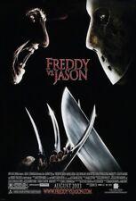 Freddy Vs. Jason Movie Poster 2 Sided Original Final Vf 27x40 Robert Englund