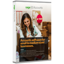 Sage 50 Accounts Plus 2018 Accounting Software Perpetual Licence - 1 User