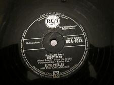 ELVIS PRESLEY 78 RPM  TEDDY BEAR  / LOVING YOU   (RCA (RCA-1013)