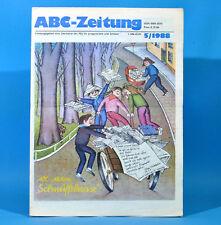 DDR ABC-Zeitung 5-1988 Zeitschrift für Junge Pioniere Helga Hahnemann Spiel