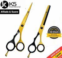 Kit de Tijeras de Cabello Cortar Pelo Peluqueria Barberia Salon Barber Scissors