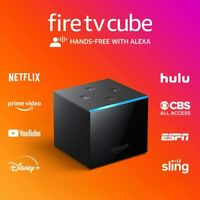 NEW Amazon Fire TV Cube 16GB 2nd Gen Streaming Media Player + Alexa Voice Remote