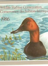 CD2b - Canada Duck Stamp Booklet Of 1.  #02 CD2b